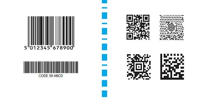 Diferencias entre los lectores de código de barras 1D y 2D