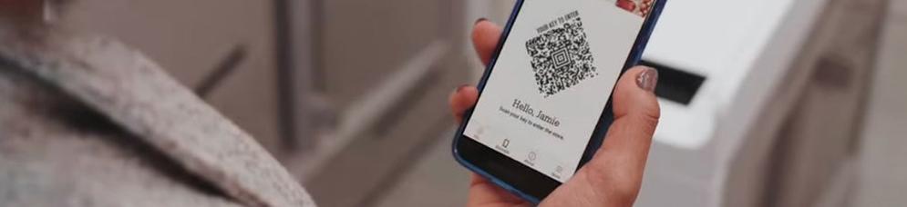 Aplicación con el código QR de Amazon